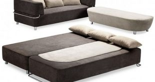 Functional 3-piece collection: sofa, bed and ottoman