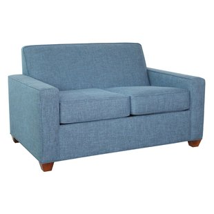 Compact and stylish hide a bed loveseat   sofas