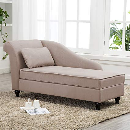 Amazon.com: YongQiang Living Room Chaise Lounges Storage Modern