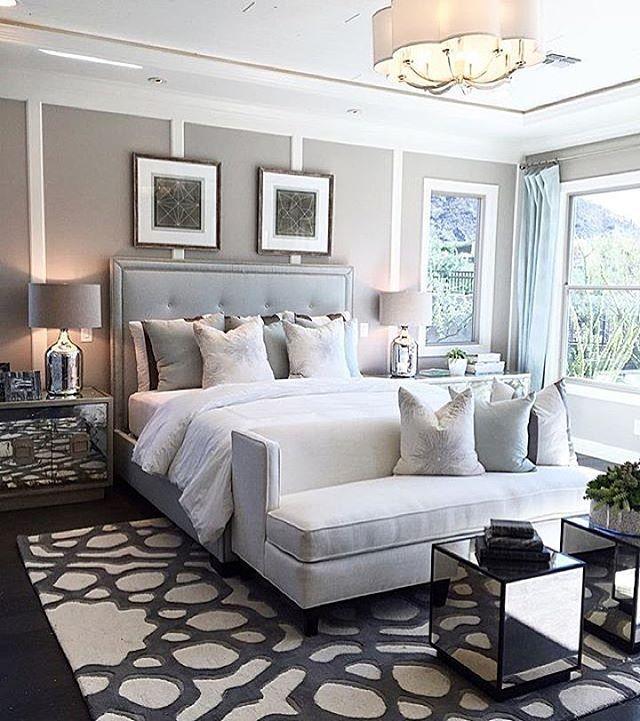 Dream bedroom by @ver_designs | Interior design | Bedroom sofa, Home