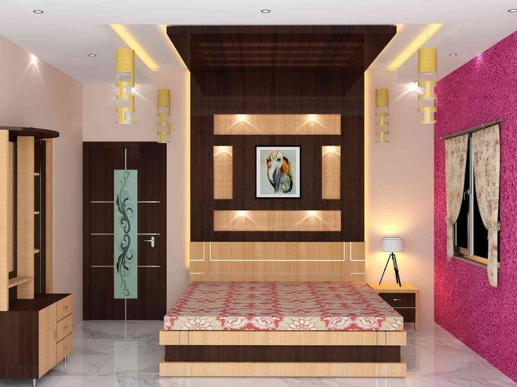 bedroom interior by Sunny Singh, Interior Designer in KOLKATA,West