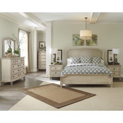 Demarlos 4 Piece Queen Bedroom Suite With Dressing Table   The