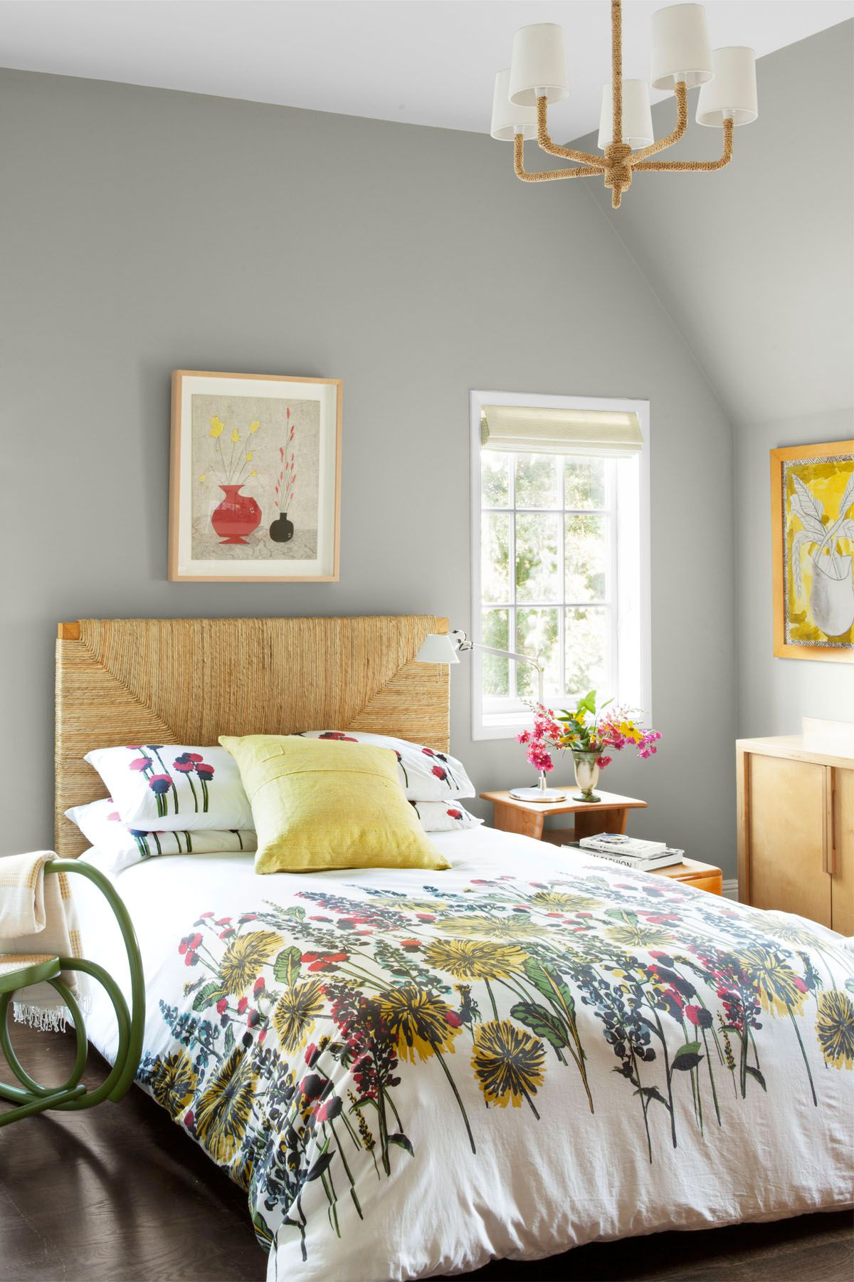 10 Gray Bedroom Decorating Ideas - Grey Paint Colors for Bedrooms