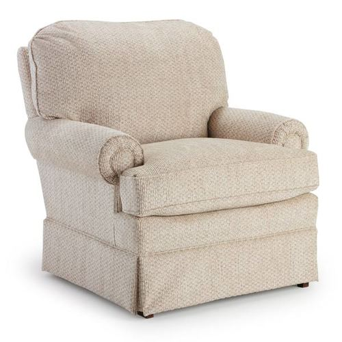 Braxton Swivel Glider Club Chair - Orange Park Furniture