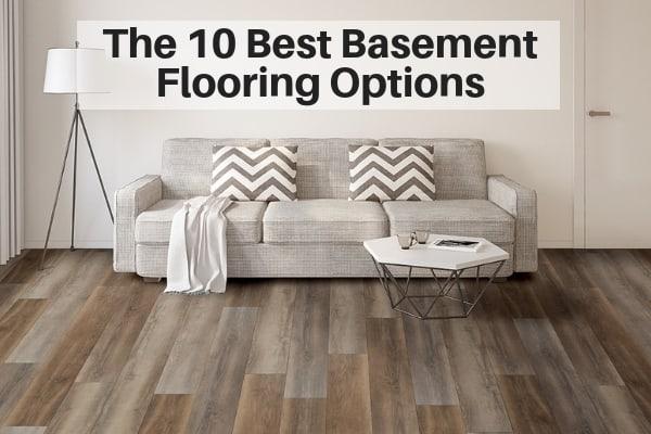 The 10 Best Basement Flooring Options | The Flooring Girl