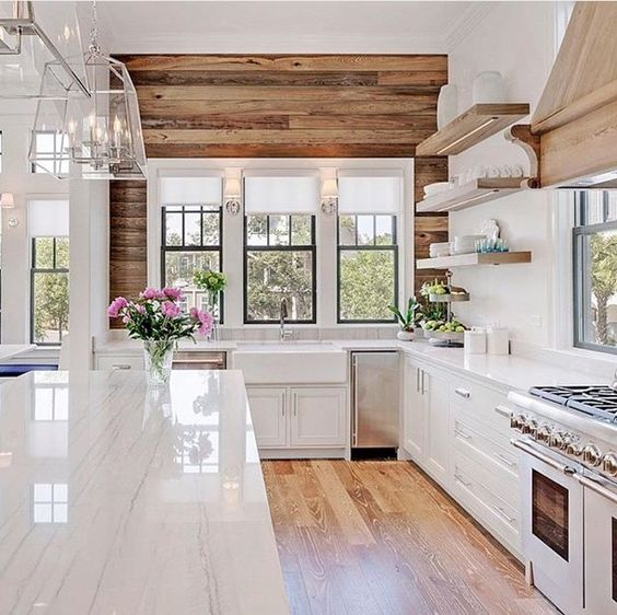 53 Best White Kitchen Designs - Decoholic