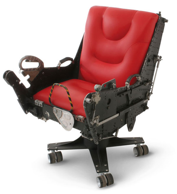 F-4 and B-52 Ejector Seat Office Chairs: Best Seats Ever