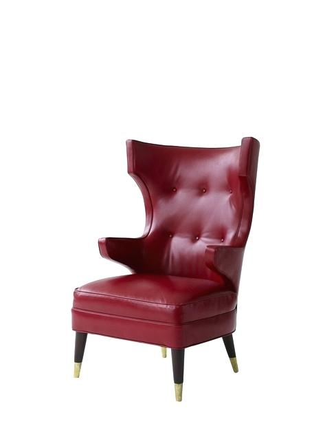 Clarice Tall Wingback Chair Alluring Ideas For Design Best Chairs