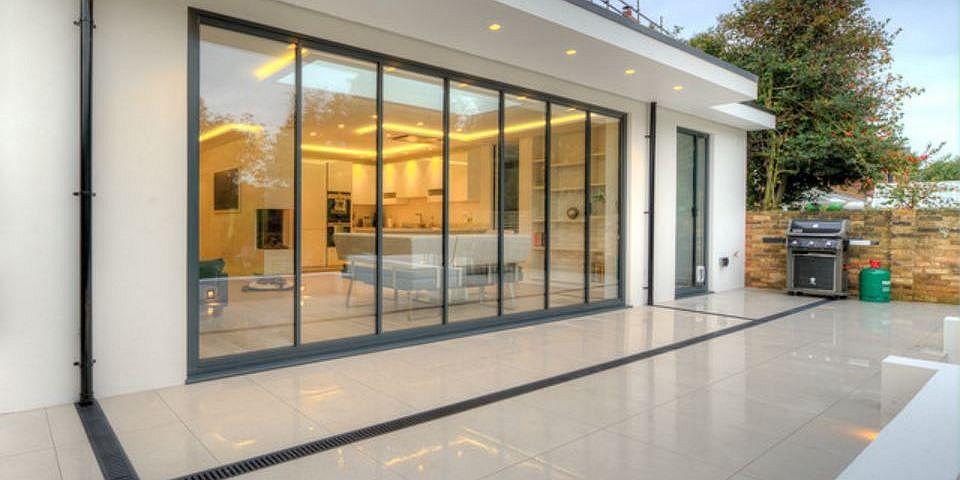 Bi Folding Doors UltraSlim Aluminium Frameless Glass With Bifold Idea -
