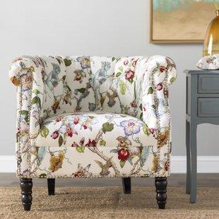 Bird Print Accent Chair | Wayfair