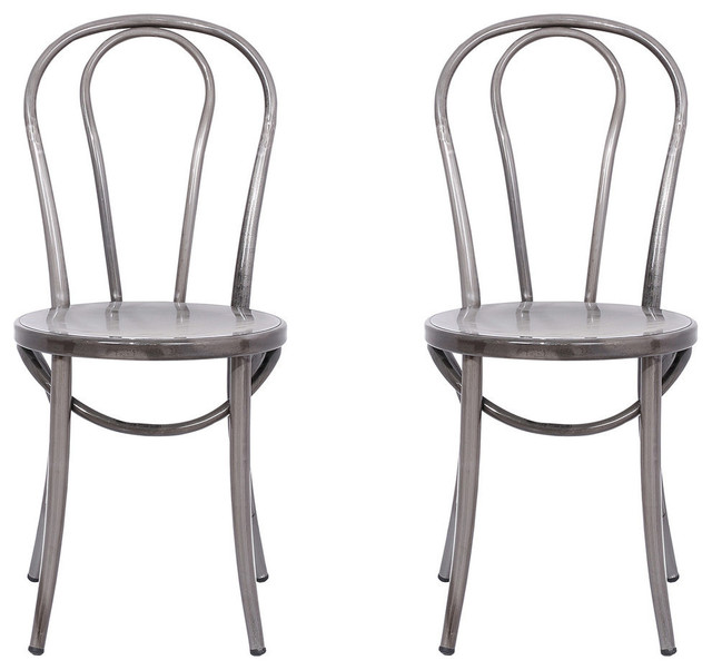 Cassidy Bistro Chairs, Set of 2 - Industrial - Dining Chairs - by