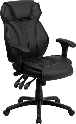 Amazon.com: Offex OFX-90267-FF High Back Black Leather Executive