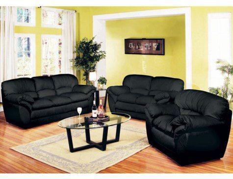 Black Living Room Furniture | www.kelsiesnailfiles.com