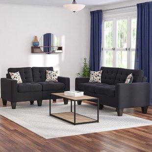 Black Living Room Furniture | Wayfair