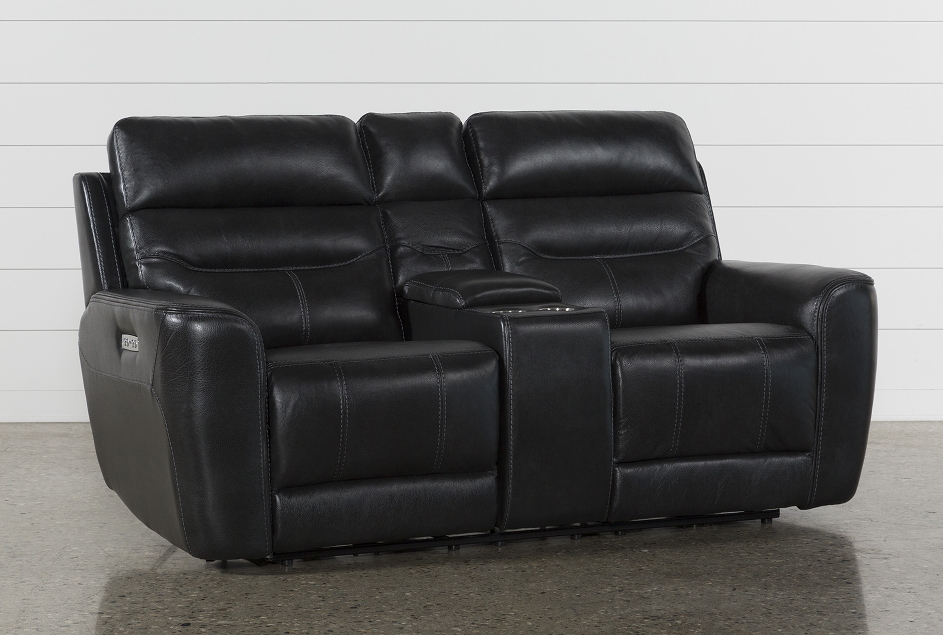 Black Loveseats - Free Assembly with Delivery | Living Spaces