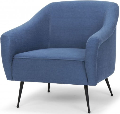 Lucie Agean Blue Occasional Chair from Nuevo | Coleman Furniture