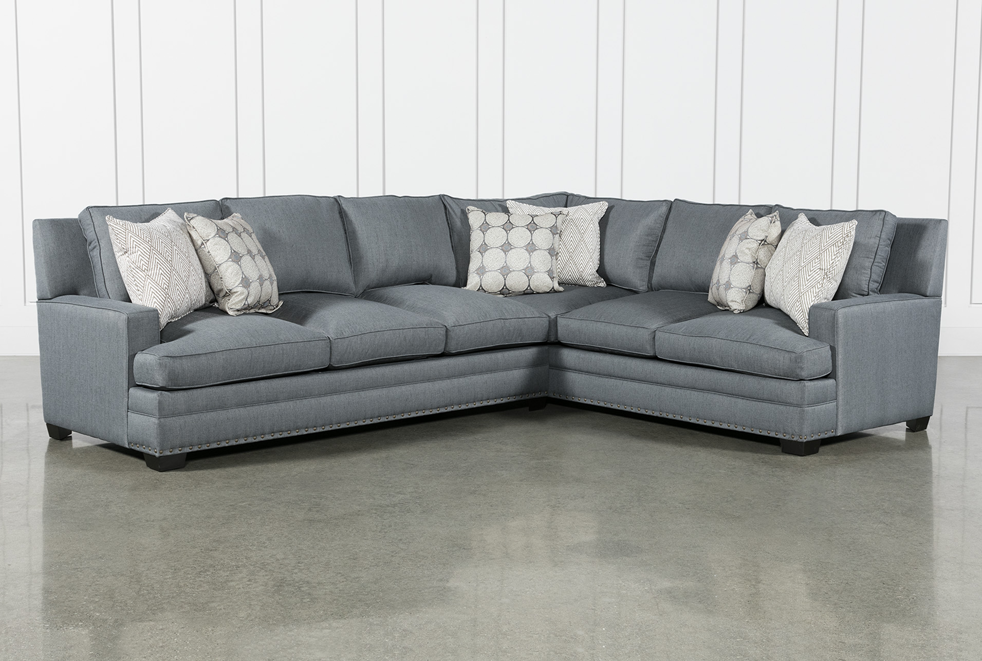 Blue Sectionals & Sectional Sofas | Living Spaces