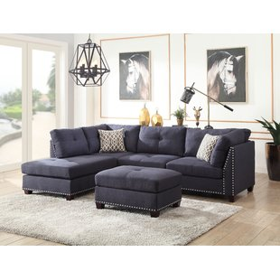 Aqua Blue Sectional Sofa | Wayfair