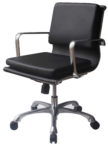 Hendrix Low Back Modern Eco Leather Executive Boardroom Chair..