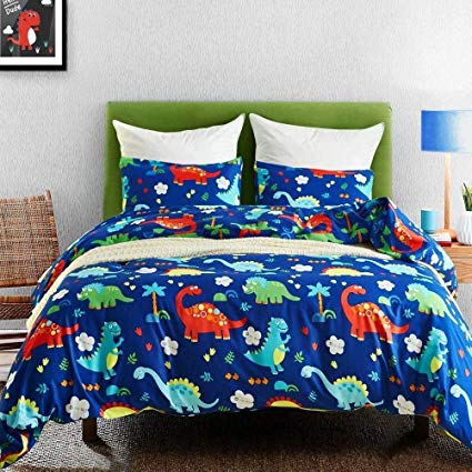 Amazon.com: Macohome Duvet Cover Set Kids Boys Bedding Queen