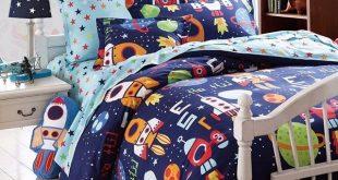 Boys Bedding Sets Space Adventure Bedding Set 100% Cotton Queen Size