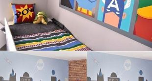 Wall Mural Inspiration & Ideas for Little Boys' Rooms | Kids