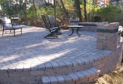 Brick Patio Installation Mequon | Ozaukee Hardscaping | Oberndorfer