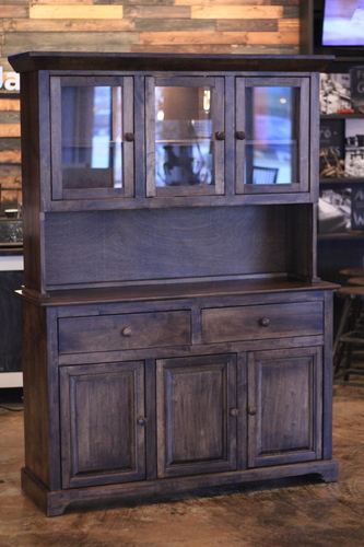 Farmhouse Buffet and Hutch - James+James Furniture | Springdale