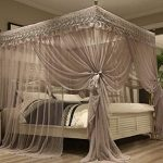 Buying the canopy bed curtains