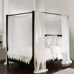 Gothic Canopy Bed | Wayfair