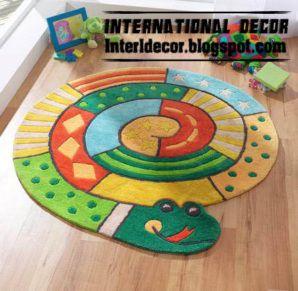 √ 9 Modern Carpets Kids models colors for For Girls room