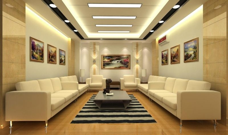 17 Amazing Pop Ceiling Design For Living Room | Кинозал | False