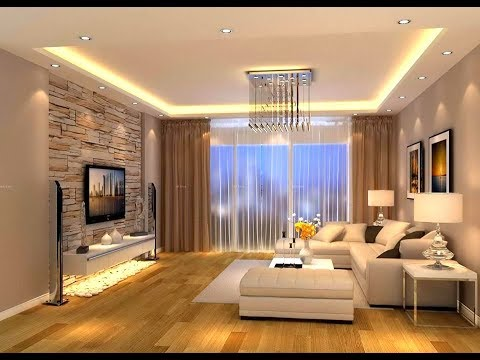 Luxurious Modern Living Room And Ceiling Designs Trend of 2018- Plan