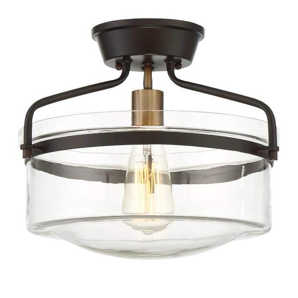 Azure 1-Light Semi Flush Mount & Reviews | AllModern