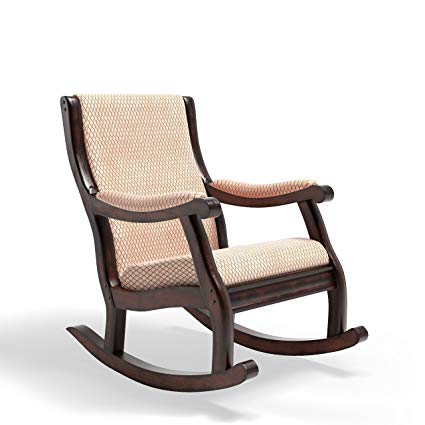 Amazon.com: Furniture of America Betty Rocking Chair, Antique Oak