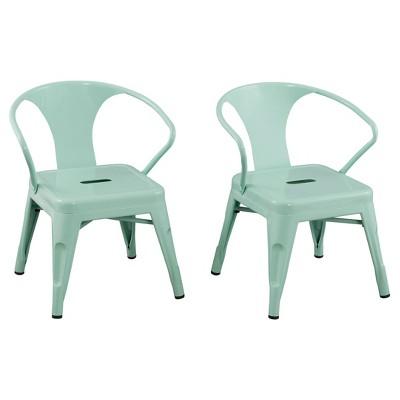 Metal Kids Chair (Set Of 2) - Reservation Seating : Target