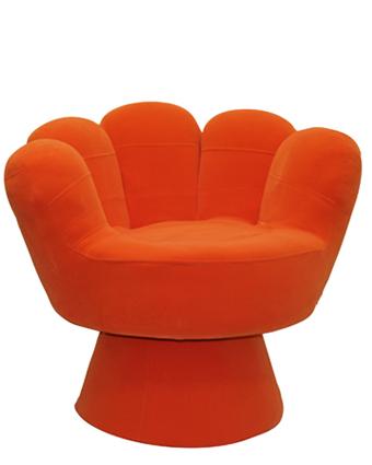 Big Kids Mitt Chair u2013 Orange | Cool Kids Chairs