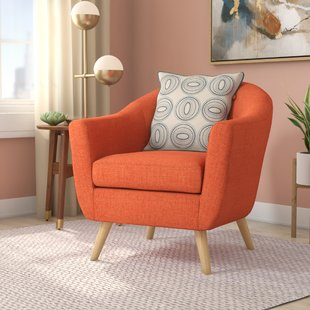 Fabric Accent Chairs You'll Love | Wayfair