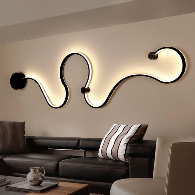 Acrylic Modern Led Chandelier Lights For Living Room Bedroom Square