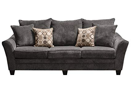 Amazon.com: Icerink Chenille Sofa: Kitchen & Dining