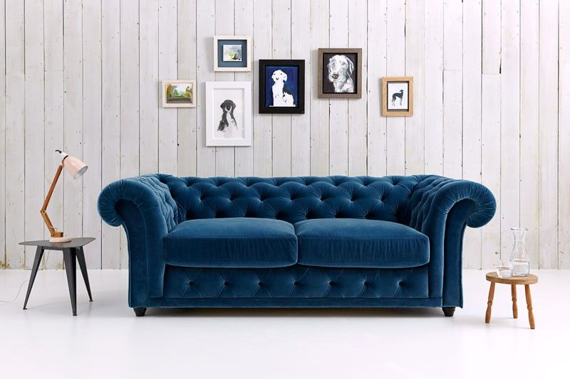 Churchill - Chesterfield Sofa Bed | mid-century | Chesterfield sofa