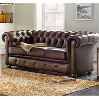 Chesterfield Sofa Beds | Leather & Fabric | Sofas by Saxon