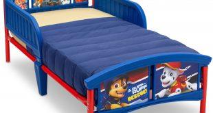 Delta Children Nick Jr. PAW Patrol Plastic Toddler Bed, Blue