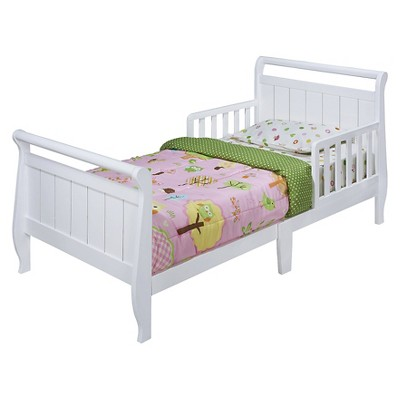 Sleigh Toddler Bed White - Delta Children : Target