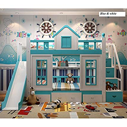 Amazon.com: WLNS 0128TB006 Modern children bedroom furniture