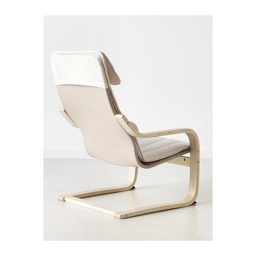 Ikea Poäng Children's Armchair, Birch Veneer, Almås Natural