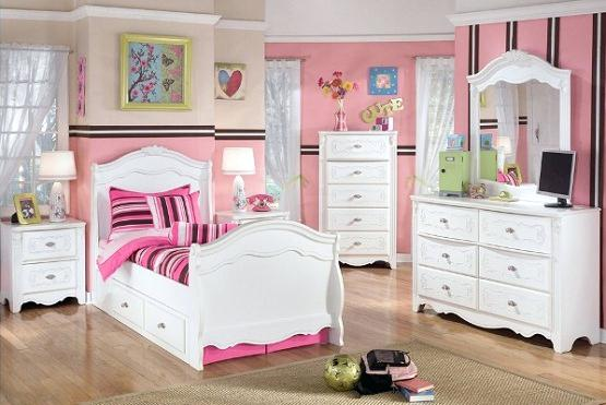 Girls Furniture Bedroom Girl Bedroom Furniture Sets At Ashleys