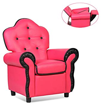 Amazon.com: Kids Sofa, GentleShower Children Armchair PU Leather