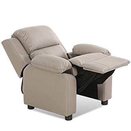 Amazon.com: Costzon Kids Recliner Sofa, Children Contemporary PU