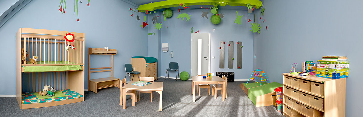 Children's room & family room